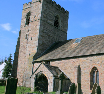 All Hallows Church - Mitton