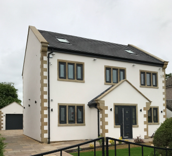 New Detached House, Ribble Valley